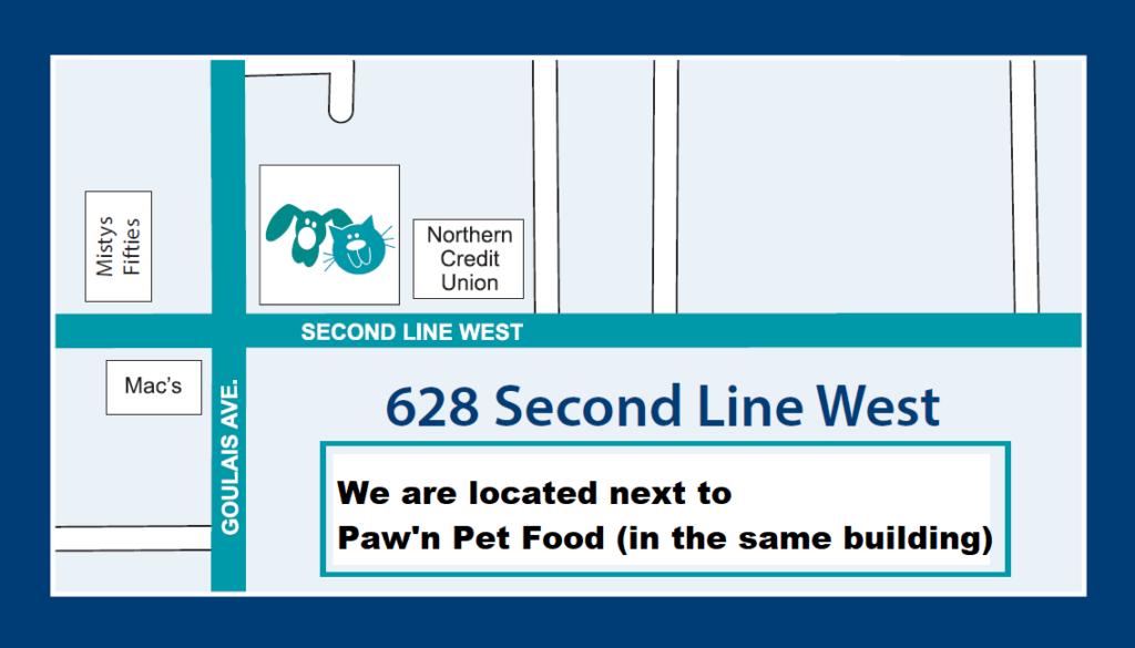 628 Second Line West - Next to Paw'n Pet Food